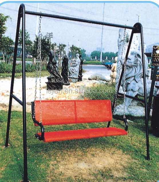 Outdoor morden style chain linked balcony swing chair