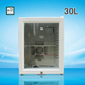 2016 black or white color fridge with a lock 30L mini fridge cooler mini bar fridge