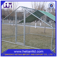 China Hot Dipped New Design Wire Mesh Fencing Large Dog Run Kennel