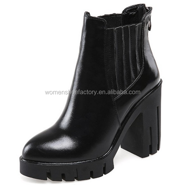 factory wholesale women fashion high heel roman style quality ankle boots