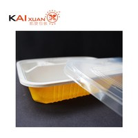 Disposable Microwaveable Plastic Take Away Safe Bento Lunch Box