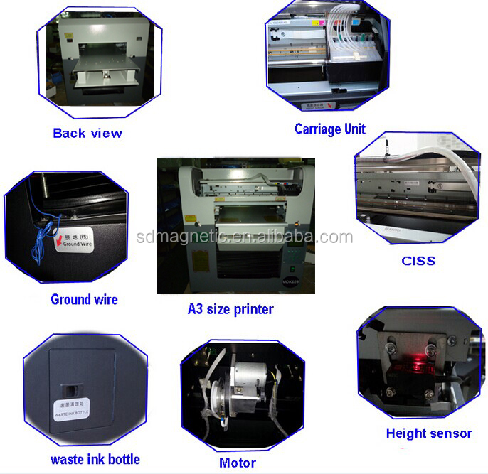printing head for textile printer and UV printer