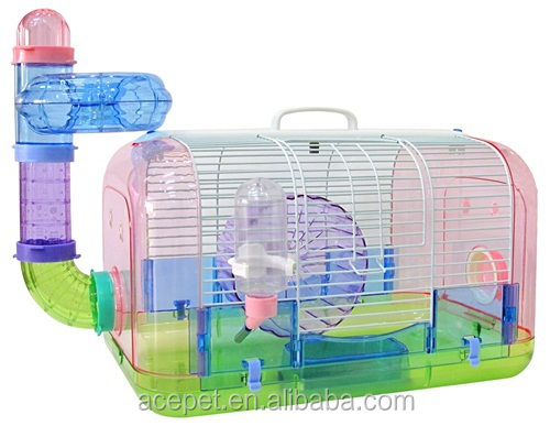 720-D High quality plastic Super Pet hamster cage small animal cage for sale