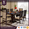 Home furniture antique wooden dining room set , classic dining room sets