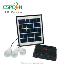 Hot sale africa portable solar energy system 4W solar power system for home