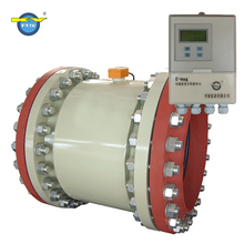 Magnetic pipe fire pump pvc digital electronic water flow meter