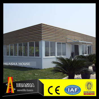 cheap and fashion big wooden house