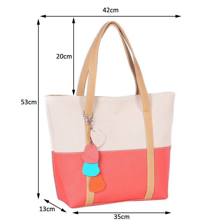 HD004BL High Quality Lady Bag Fashion Saffiano PU Leather Bag for Women