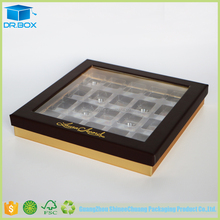 Wholesale Hot Sale Square Chocolate Truffle Boxes Packing