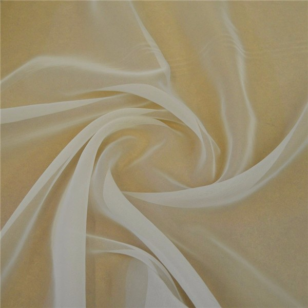 Hanlin Tex high twist 100% polyester voile fabric for scarf shawl