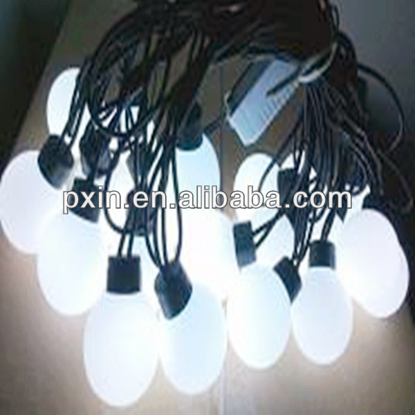 2013 Holiday decoration remote control 20LEDs/5M 2.5copper wire ball case 40mm diamaeter