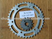 D-650 motorcycle chain sprocket
