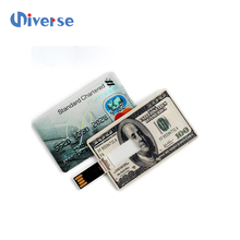 Card flash usb 3.0 blank visa credit cards 1g 4g 8g 16g