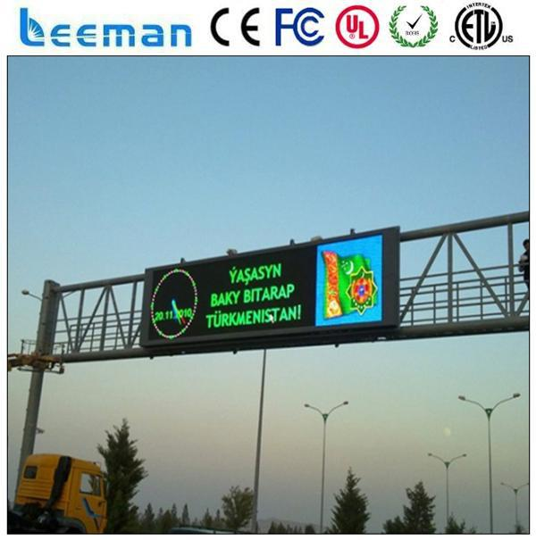 p10 led panel long view distance android mini book notebook tablet pc laptop Leeman program led bus message signs board