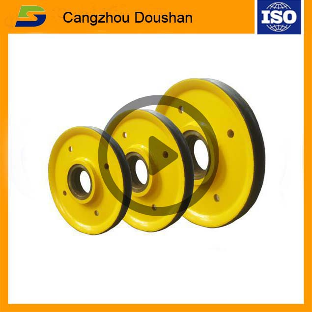 nodular cast iron Elevator,High Quality elevator parts, cast iron elevator wheel