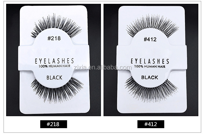 Factory selling False Eyelashes Pure Handmade Hair Eyelashes