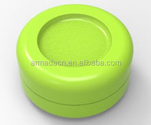 2014 hot sell pure colour butane hash oil silicone container