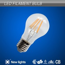 hong kong wholesale electronics 2015 New Product E27 Led Filament Bulb 6W