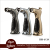 Metal Cigar torch lighter refillable Windproof with gift box