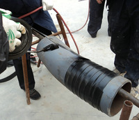heat shrinkable tape for joints of 3LPE coating pipes