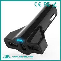 OEM universal fast charge 5v 5.2a output custom 3 usb car charger