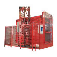 Construction lift elevator building hoist