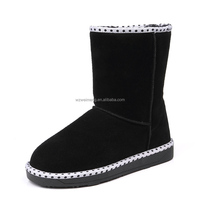 Hot selling warm kids long boots high heel boots for kids
