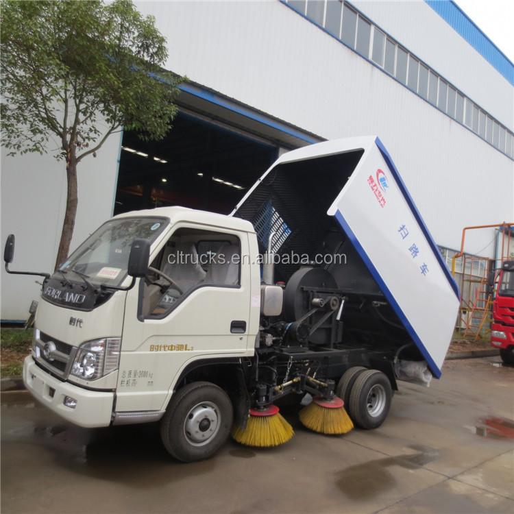 Customized hot-sale super quality used road sweeper