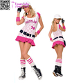 China wholesale Baseball Player sexy Halloween Costumes women L15509