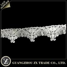 6cm trimming lace/ african french lace tulle lace/ cotton crochet collar lace