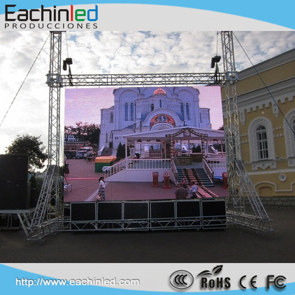 P6/p8/p10 video blue film indonesia flexible led screen , import led display from china