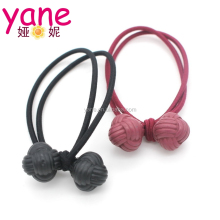 Noodle bell shape hair ties head elastic rope girls hair band ring