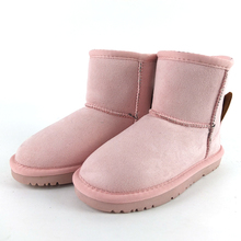 Factory direct new design pink animal kids used winter boots