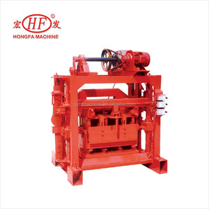 Low Investment High Profit Hongfa HFB520M Fly Ash Brick Making Machine