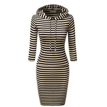 Wholesale Womens Hooded Hoody Sweatshirt Ladies Bodycon Hoodie Dress