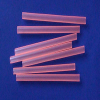 large plastic straight straws fluorescent color