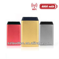Camping Portable Universal 3G Wifi Router Dual USB Power Bank For Samsung For HTC For Google Nexus
