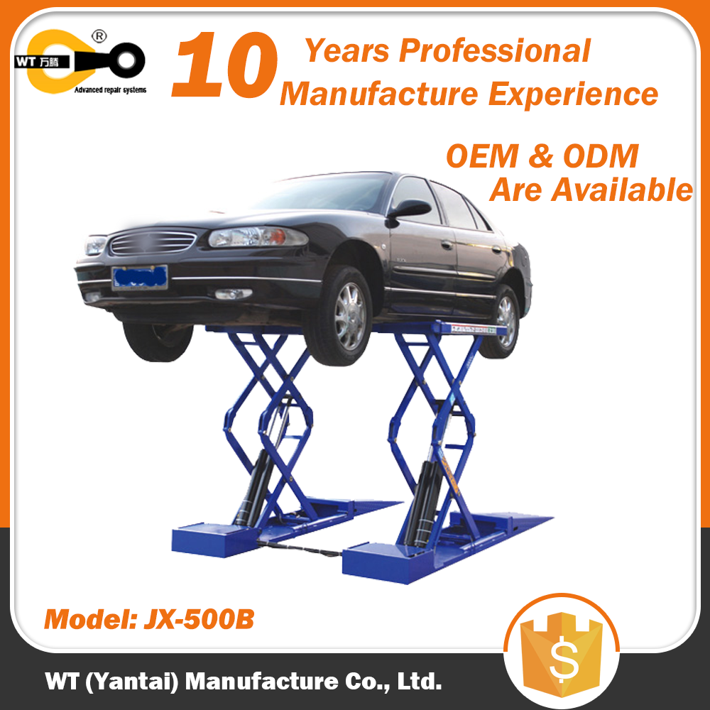 Small Platform Scissor Lift for Repair Service