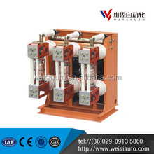 WEISI 2016 series China made ac 220v indoor vacuum circuit breaker