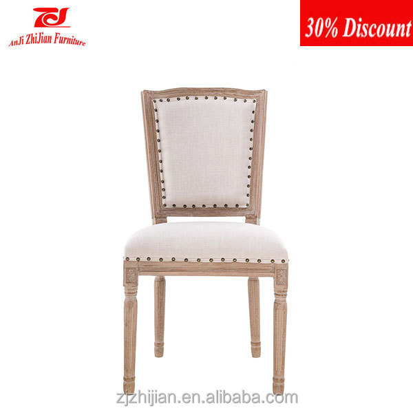 Hot selling restaurant chairs for sale used Wood Style antique french provincial dining room furniture