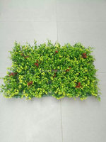 2016 new hot products artificial fence hedge decoration garden artificial foliage