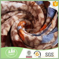China Factory Wholesale Printed 3d Bedding Sets Cheap Printed Flannel Fleece Fabric