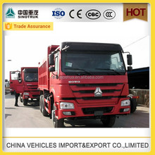 CHINA SINOTRUK HOWO heavy dump chinese truck wheel clamp tipper sand for sale in factory