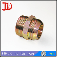 74 Degree JIC Male Thread, CONE/BSPT Male Thread Straight Adapter, Hydraulic Hose Fittings