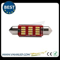 led light bulb festoon42mm base dome inerior light high lumen white light ,car interior parts names
