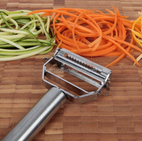 Ultra Sharp Stainless Steel Julienne Peeler & Vegetable Peeler