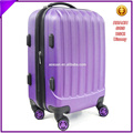 china purple little girl luggage suitcase with 18'' 20'' 22'' 26'' size