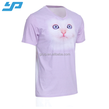 Dye sublimated 100% polyester coolmax custom cheap dri fit t shirt wholesale