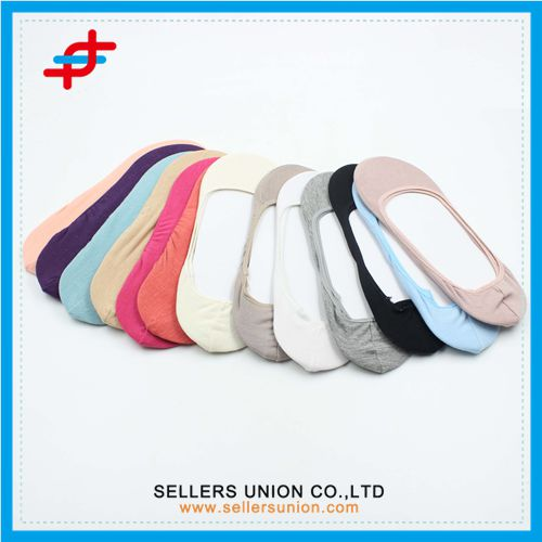 Women's Loafer Liner Socks Casual Anti Odor No Show None Slip Hidden Sock