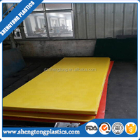 chemical resistant pp plastic board